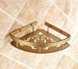 Rack shelf European Retro Bathroom Accessories Bathroom Racks Copper Bathroom Accessories ( Size : G )