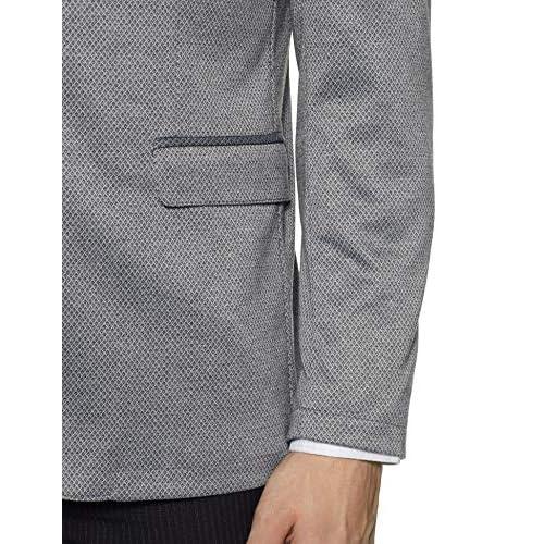 51LxLOZKmNL. SS500  - Peter England Men's Slim fit Blazer
