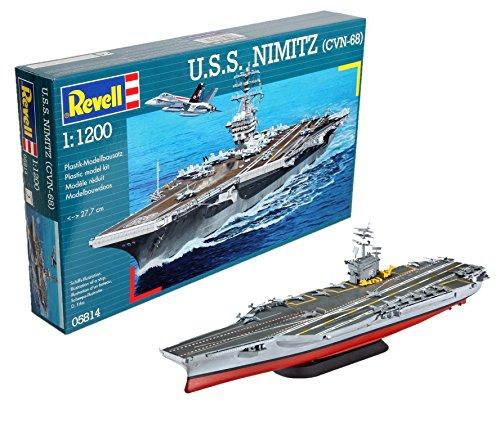 Carrier Model - Revell Germany U.S.S. Nimitz (CVN-68) Model Kit
