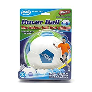 Hover Ball: Fun Indoor Soft Foam Floating Football with Glide Base ...