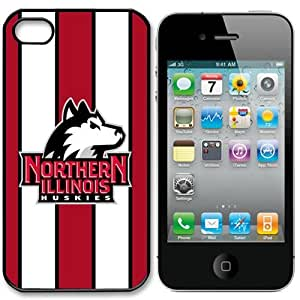 NCAA Northern Illinois Huskies Iphone 4 and 4s Case Cover