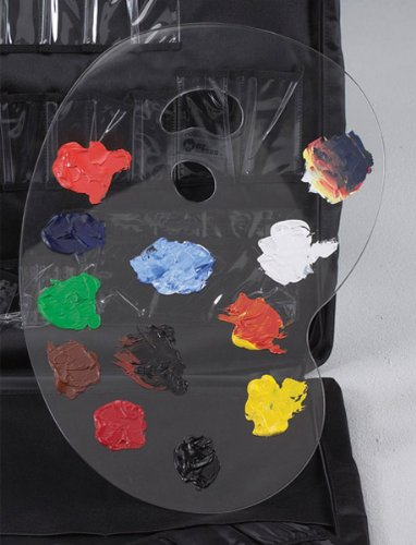 Martin Large Clear French Style Acrylic Painting Palette by Martin