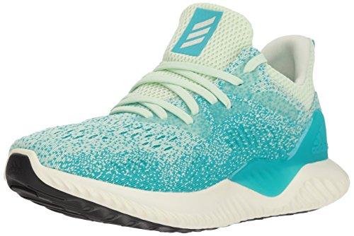 adidas Women's Alphabounce Beyond Running Shoe, aero Green/White Tint/hi-res Aqua, 9.5 M US