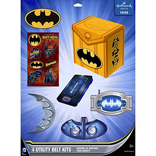 Batman Heroes and Villains Favor Pack for 4 ()