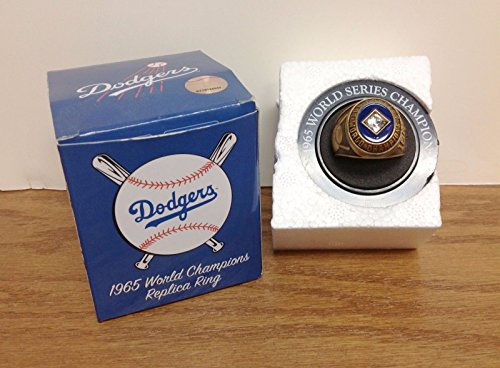 Los Angeles Dodgers 1965 World Series Champions Sandy Koufax Replica Ring SGA