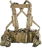 Tactical Assault Gear Intrepid Chest Rig w/Grenade & Mag Pouches - Multicam ICR1-MC