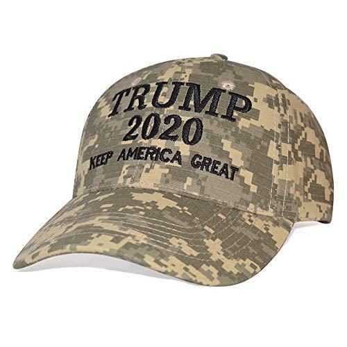 DISHIXIAO Trump Cap 2020 Keep America Great USA Baseball Caps Embroidered Donald Trump Hat ()