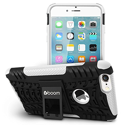 iPhone 6 Plus/iPhone 6S Plus Case #boom Shock 2 Coque Housse Etui De Smartphone Avec Béquille De Support Intégrée. Coque Protectrice Fine Et Élégante. Contours Antiglisse. Protection Hybride En Mélang