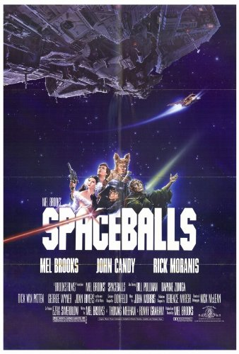 Amazoncom Spaceballs Movie Poster Lithographic Prints Posters