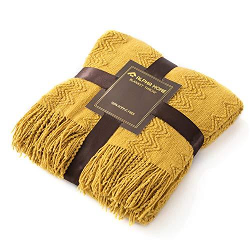 ALPHA HOME Throw Blanket Travel