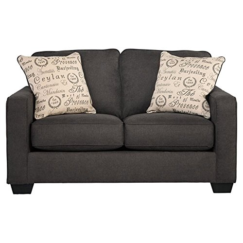 Signature Design by Ashley Alenya Loveseat, Charcoal