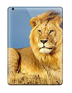 Protection Case For Ipad Air / Case Cover For Ipad(lion Animal Background Desktop Background)