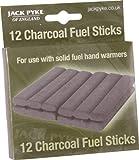 Jack Pyke - Barras de carbón para calientamanos (12 unidades)