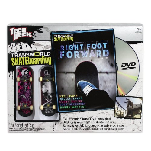 Tech Deck Sk8Shop DVD with Board Foundation/Corey Duffel (Foundation Skateboards Duffel)