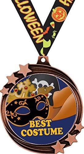 Best Costume Halloween Medals - 2.5