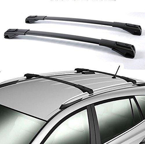 Nova for 13 14 15 16 17 Toyota RAV4 Black OE Style Roof Rack Cross Bars Set Luggage Pair Aluminum (Install Instructions Steps in The Picture)