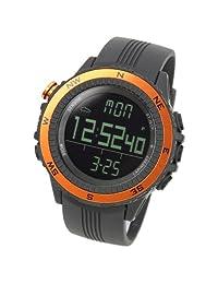 [LAD WEATHER] German Sensor Altimeter Barometer Chronograph Digital Compass Alarm Weather Forecast Outdoor Sport Watches (Climbing/ Hiking/ Running/ Walking/ Camping) Men's