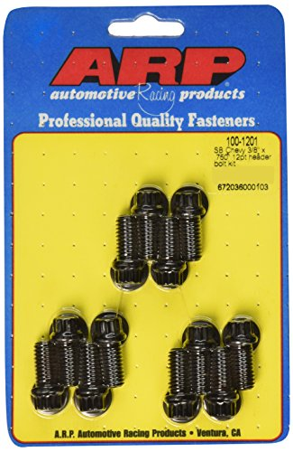 ARP 1001201 Black Oxide 12-Point Header Bolts - Set of ()