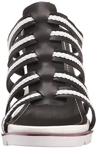 Too Too Wedge 2 Sandal Black Umbre Women Lips 4xZva
