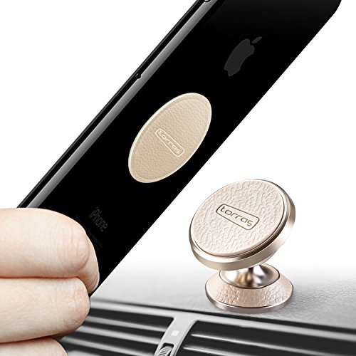 iPhone X 360 Rotation Car Phone Holder for Dashboard Cell Phone Cradle Mount Compatible with Samsung Galaxy Note 9 S8 S7 S9 S9 Plus 8//7 6//5 and More TORRAS Magnetic Car Mount