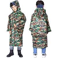 AYUBOOM Children Raincoat,Rainwear for Ages 4-14,Rain Ponchos to Boys,Girls