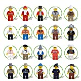 20pcs Different Figures Occupations Building Blocks Brick DIY Toys Children Gift
