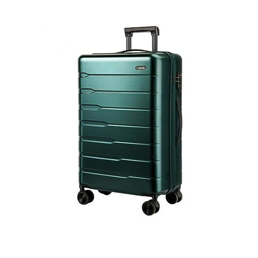 Maleta para Hombre y para Mujer Caseta de embarque código de Acceso Maleta, Verde, tamaño (34 * 23 * 55) cm (Color : Dark Green, Size : 14 * 10 * 22 Inch): ...