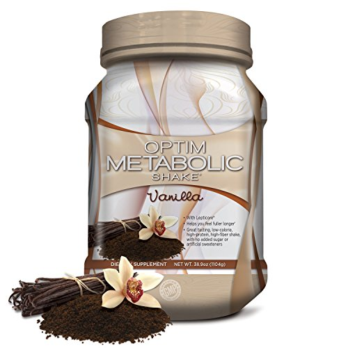 Meal Replacement Protein Shake Powder With Clinically Proven Ingredients For Weight Management. Whey Protein, Plant Protein, High Fiber,