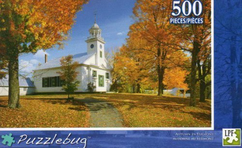 Autumn in Vermont - Puzzlebug -500 Pc Jigsaw Puzzle by Puzzlebug