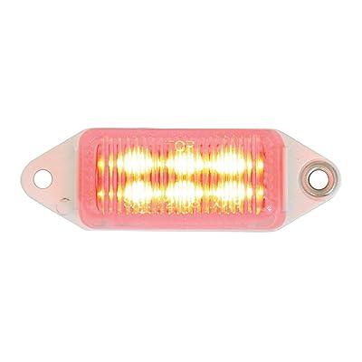 Grand General 78373 Red Sealed 6-LED Marker Light: Automotive
