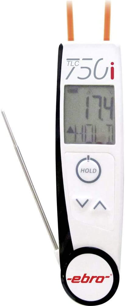 Ebro Tlc 750i Infrarothermometer Und Einstichthermometer Haccp Optik 2 1 50 Bis 250 C Haccp Kon