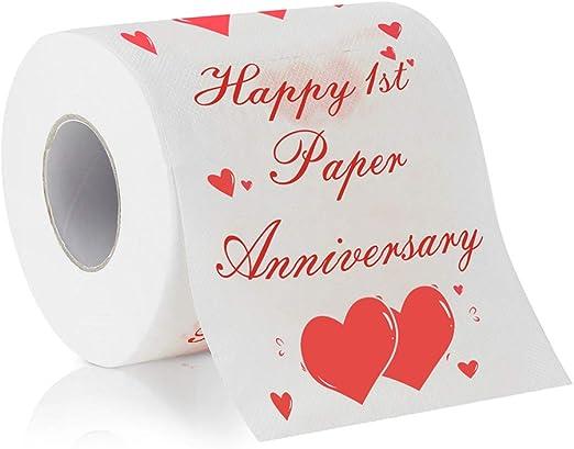 Happy Anniversary Toilet Paper