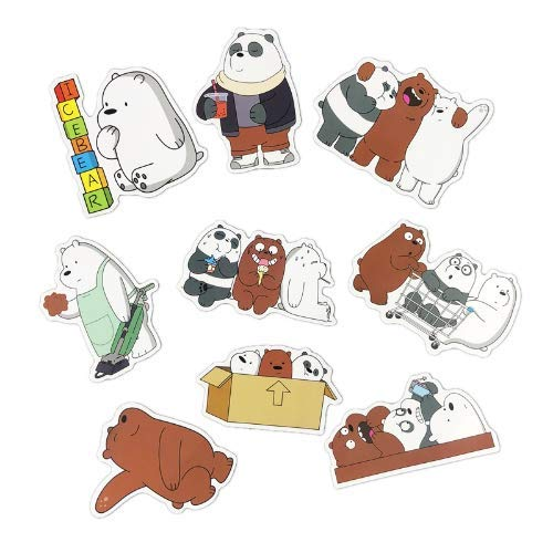 Gifts & Merchandise Gifts & Merchandise zwuszw Lovely Cartoon PVC Waterproof Sticker Toy For Car Laptop Luggage Bicycle Motorcycle Notebook Nude Stickers Child Gift 40pcs