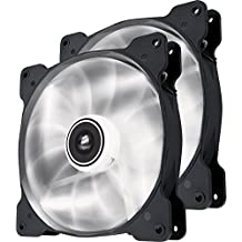 Corsair Air Series SP 140 LED White High Static Pressure Fan Cooling - twin pack (CO-9050035-WW)