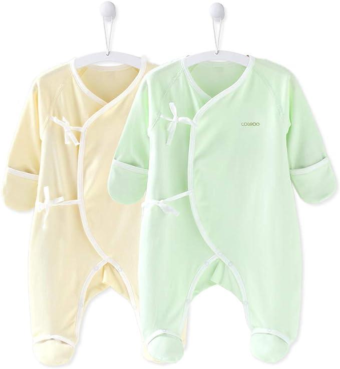 Amazon.com: COBROO Pijama de pie para bebé unisex para ...