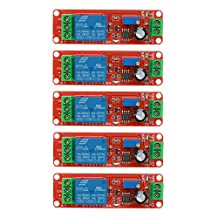 Relay Module, UEB 5pcs DC 12V Delay Relay Shield NE555 Timer Switch Adjustable Module