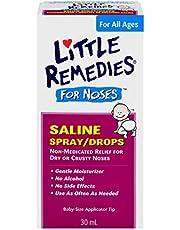 Little Remedies Noses Saline Spray/Drops, 30 Milliliter