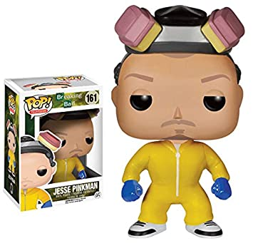 Funko Pop Television (Vinyl): Breaking Bad Jesse Pinkman Cook Action Figure by Fun Ko