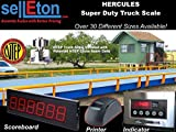Selleton Truck Scale 10 X 10 Ft Truck Scale 85000 Lb Steel Deck Ntep Approved