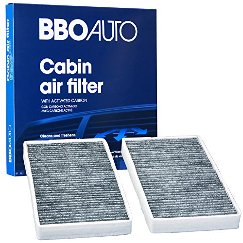 BBO AUTO BCF8791 Premium Cabin Air Filter with Active Carbon Media - Fits Chevrolet Avalanche, Silverado, Tahoe | GMC Sierra (CF8791a REPLACEMENT)