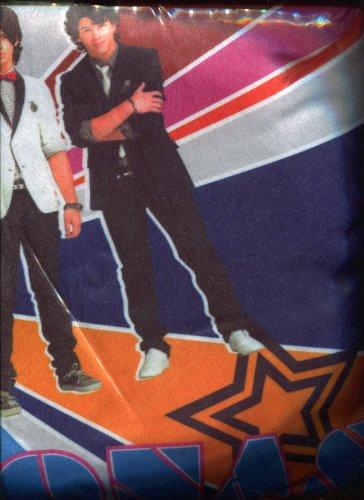 Jonas Brothers * Journel Pillow * Includes Journal // Door Hanger // Sleep Mask Contained Inside Pillow
