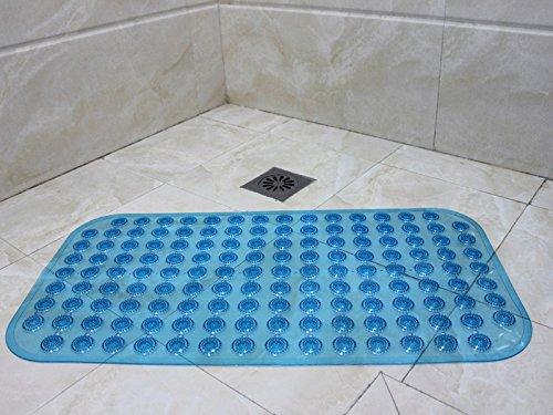 TS-nslixuan Badezimmer strapazierfähige PVC-Sucker rutschhemmend Dusche Mat Sicherheitsmatte 68  36 cm, Rot - - B B0797ST2LF Duschmatten
