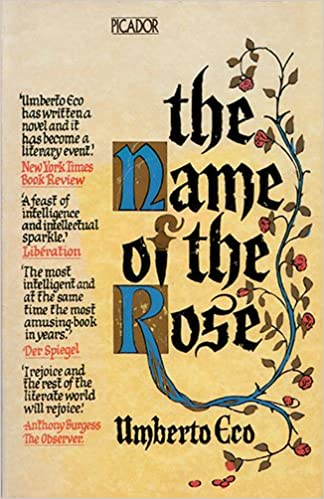 Image result for the name of the rose book
