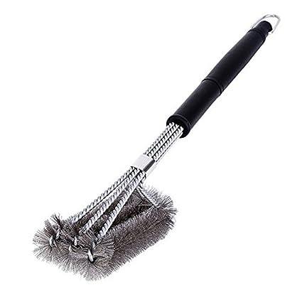 HUPLUE Cepillo de Limpieza para Barbacoa Limpia Todos los ...