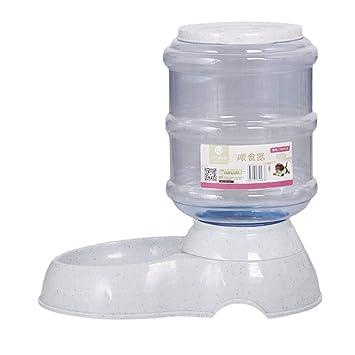 DoMoment Dispensador de Agua para Perros, dispensador automático de Agua para Mascotas Dispensador de Alimentos