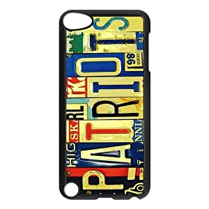 License Plate Protective Hard PC Back Fits Cover Case for iPod Touch 5, 5G (5th Generation)
