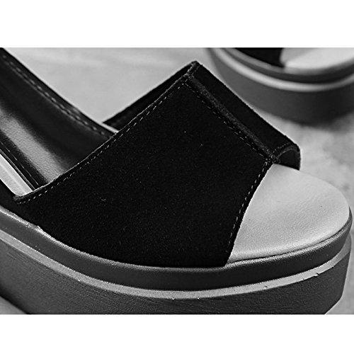 De zapatos Xing Tacones Color Del Femeninos Size Bei Zapatos Estudiante Color Bao Apricot 36 color Firm Boca Pescado Altos Gruesos zapatos Tq4wXPxd