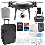 DJI Phantom 4 PRO Obsidian Edition Drone Quadcopter (Black) Travel Case Starter Bundle