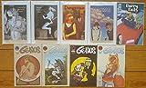 Adult Furry Media Set of 4 Books and 5 Comics