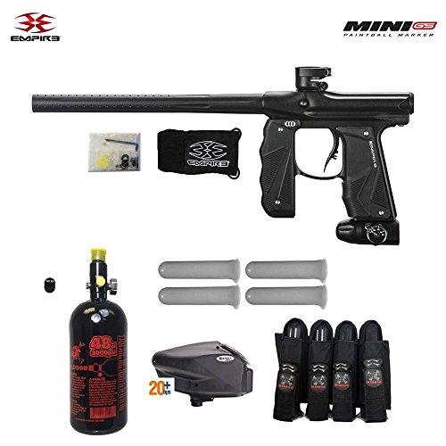 Empire Mini GS Advanced HPA Paintball Gun Package - Dust Black